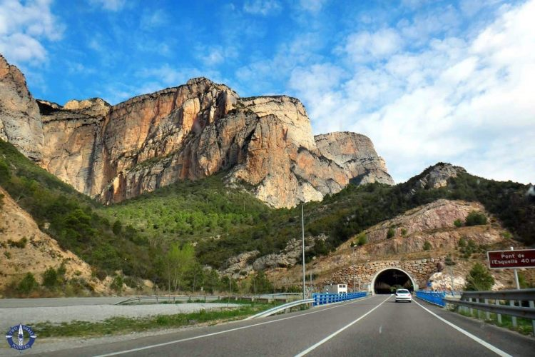 Hwy C-14 near the Spain and Andorra border