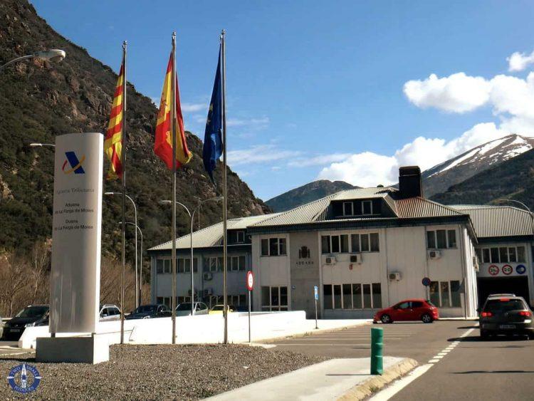 Spanish-Andorran border