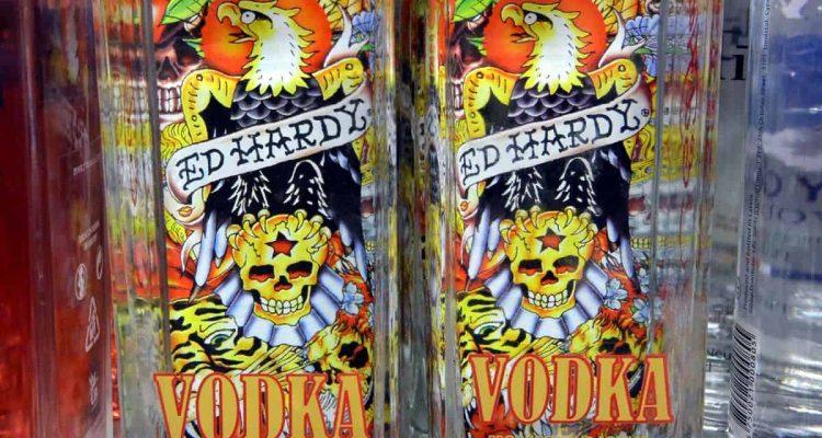 Ed Hardy vodka in Andorra