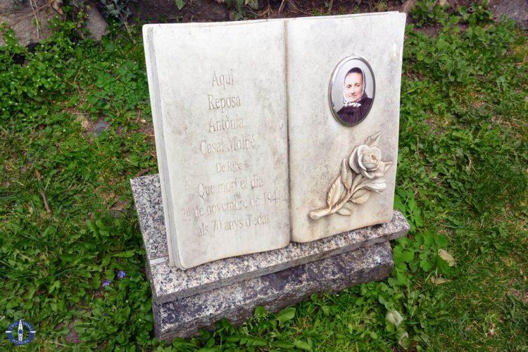 Tombstone at Santa Coloma Church, Andorra