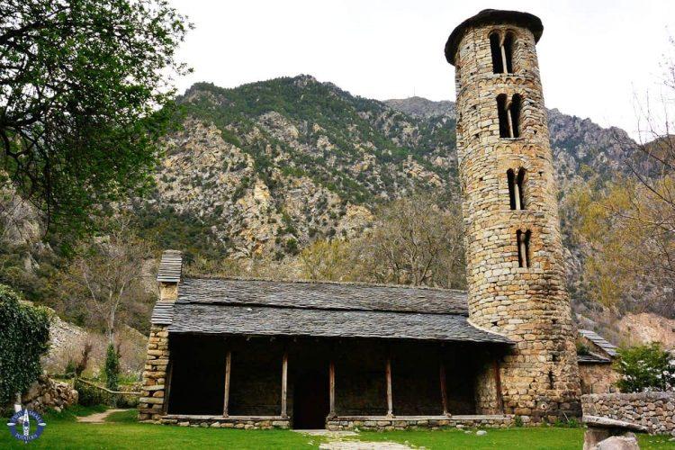 Santa Coloma Church in Andorra la Vella