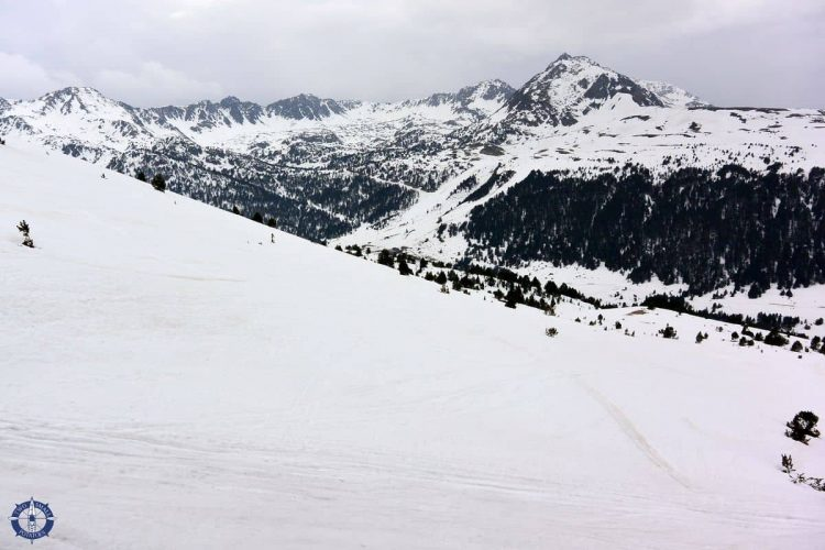 Gorgeous snowy Pyrenees, one of many reasons to visit Andorra