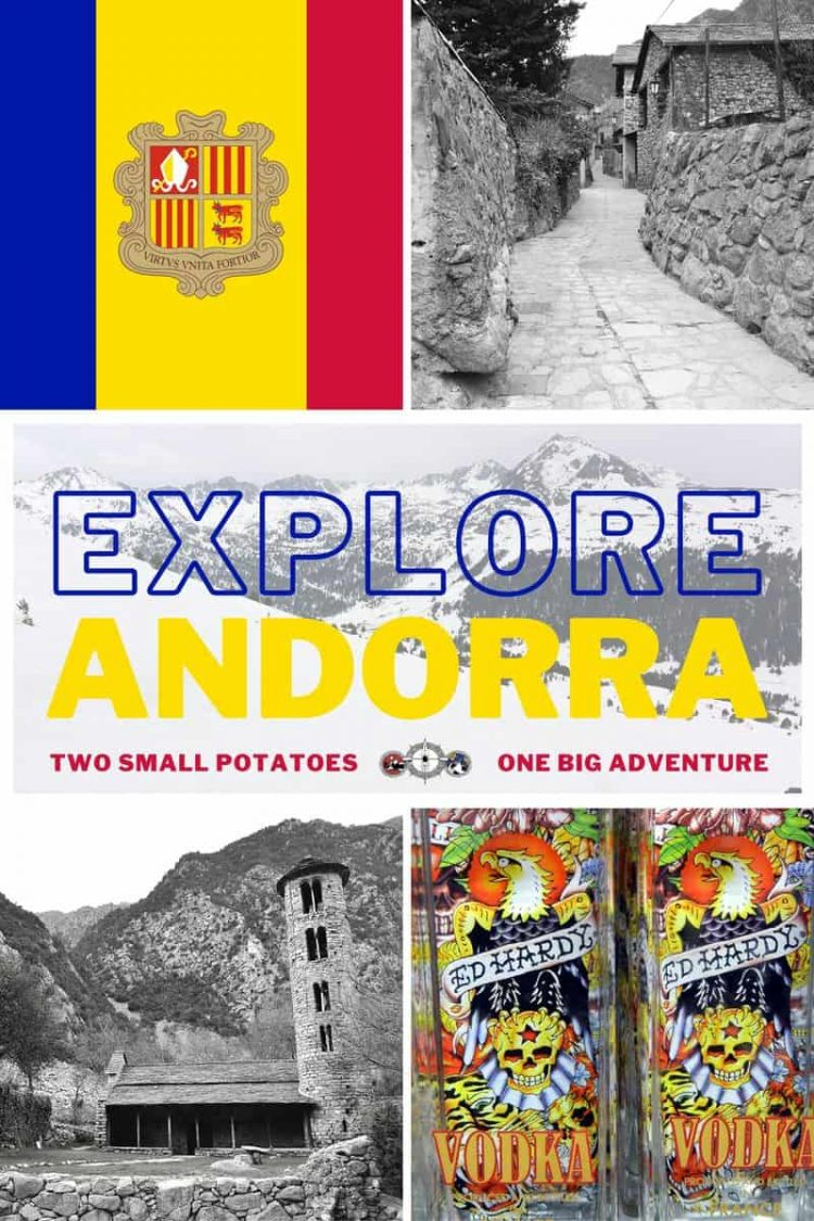 PIN, Andorra Road Trip by Two Small Potatoes Travel