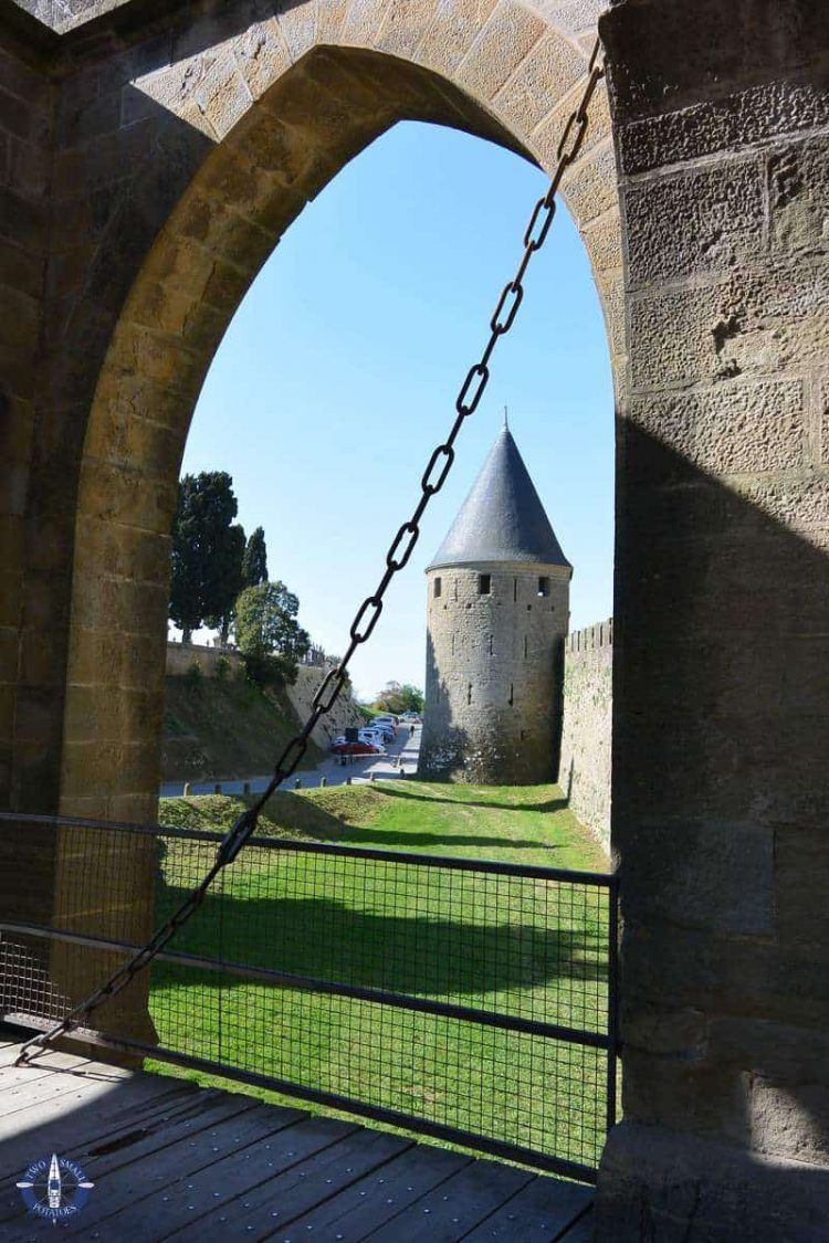 One of the entrances of Carcassonne's medieval city