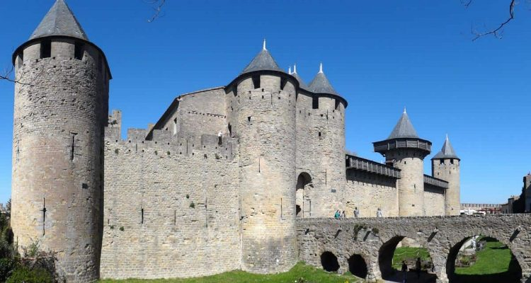 Le Chateau Comtal, Carcassonne, France