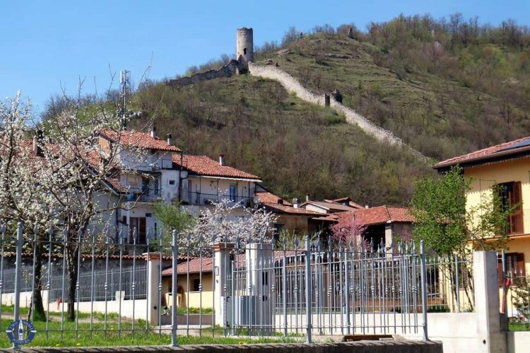 Village of Bagnasco, Italy