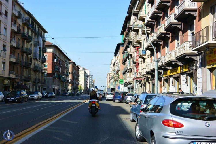 Road trip through Turin, Italy
