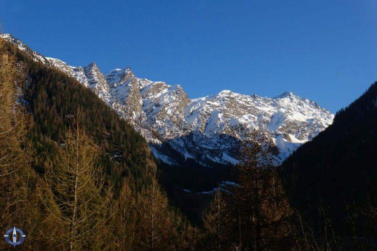 Italian Alps near Aosta Valley