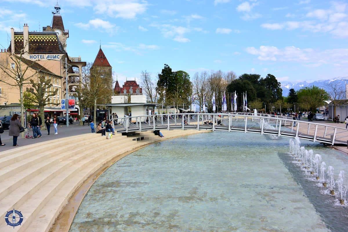 Place de la Navigation in Lausanne, Switzerland