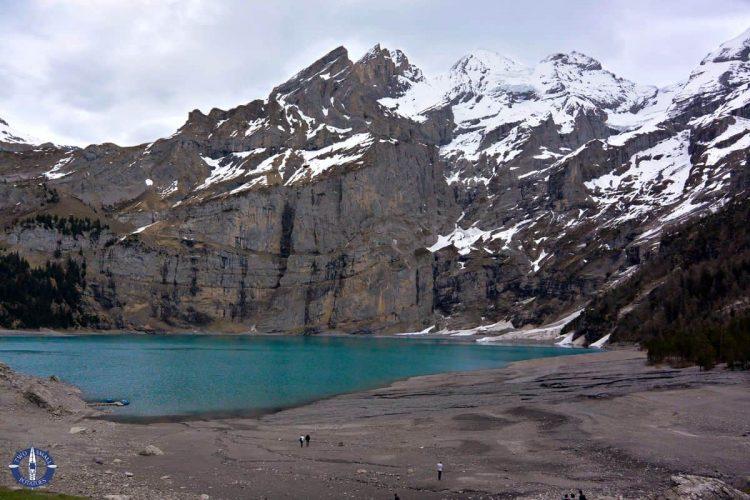 Turquoise waters of Lake Oeschinen