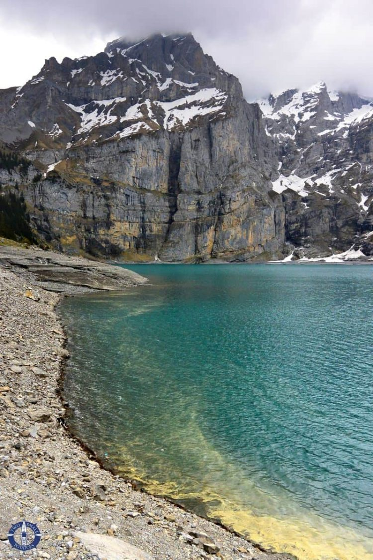 Turquoise Lake Oeschinensee, image for sale on Fine Art America