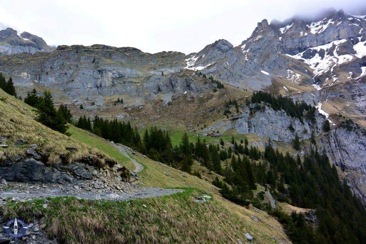 Unterbergli Hut in the Swiss Alps