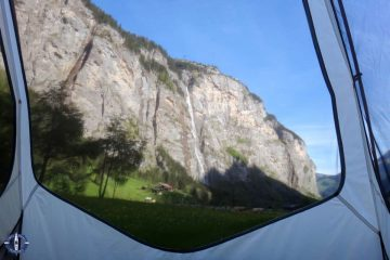 Camping Ruetti in Stechelberg, Switzerland