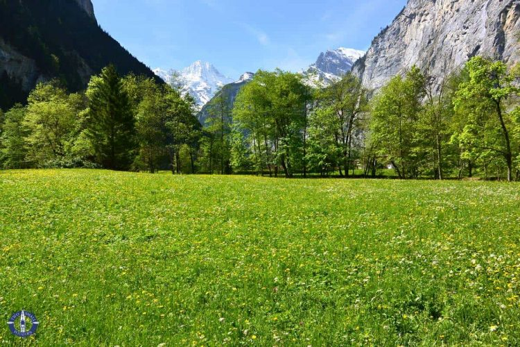 Image of Lauterbrunnen Valley for sale on Fine Art America by Two Small Potatoes
