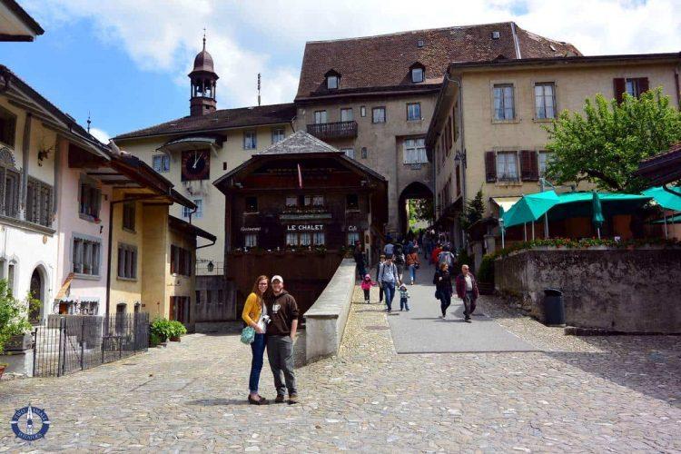 Our American friends in Switzerland