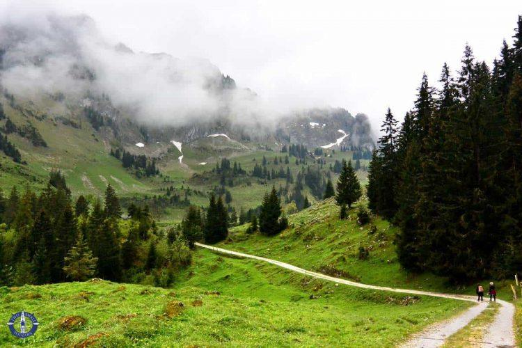 Hiking Brecca Gorge in Switzerland