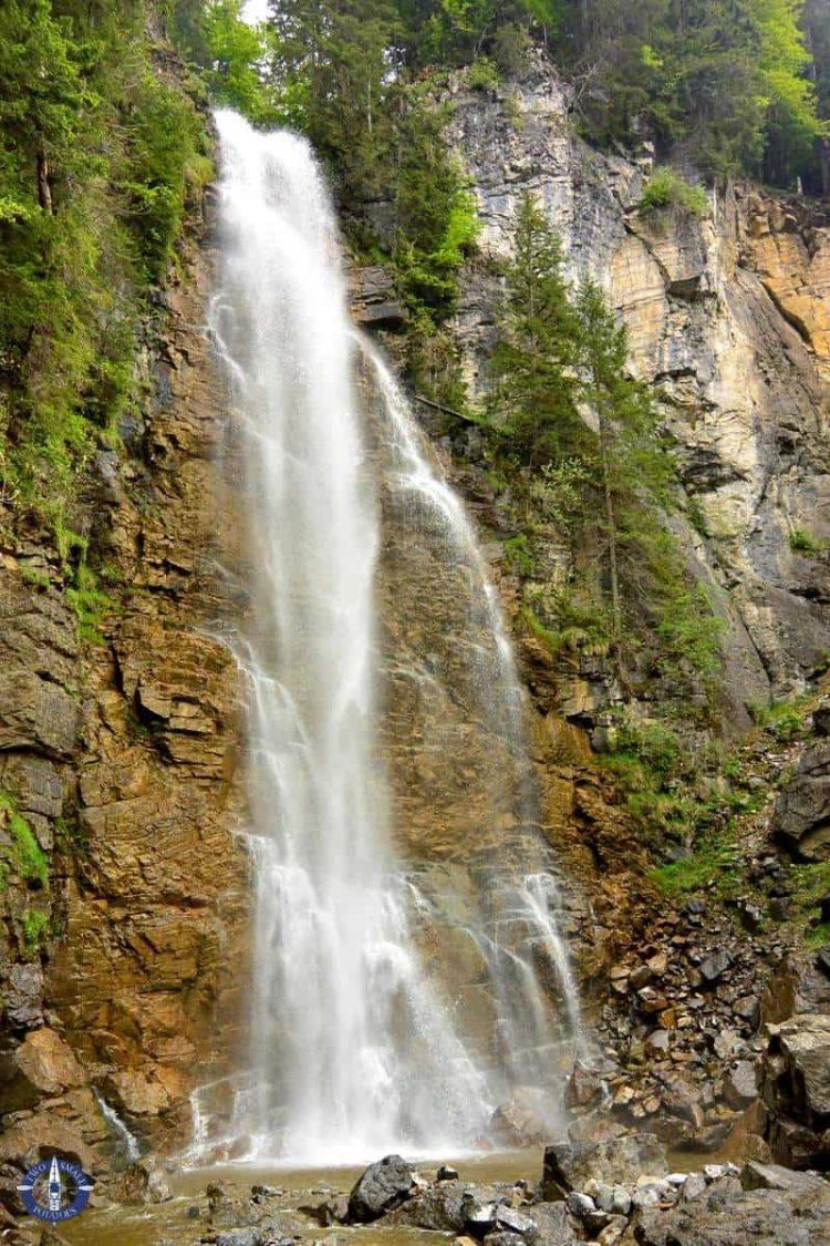 Schwarzsee Falls near Brecca Gorge, Switzerland