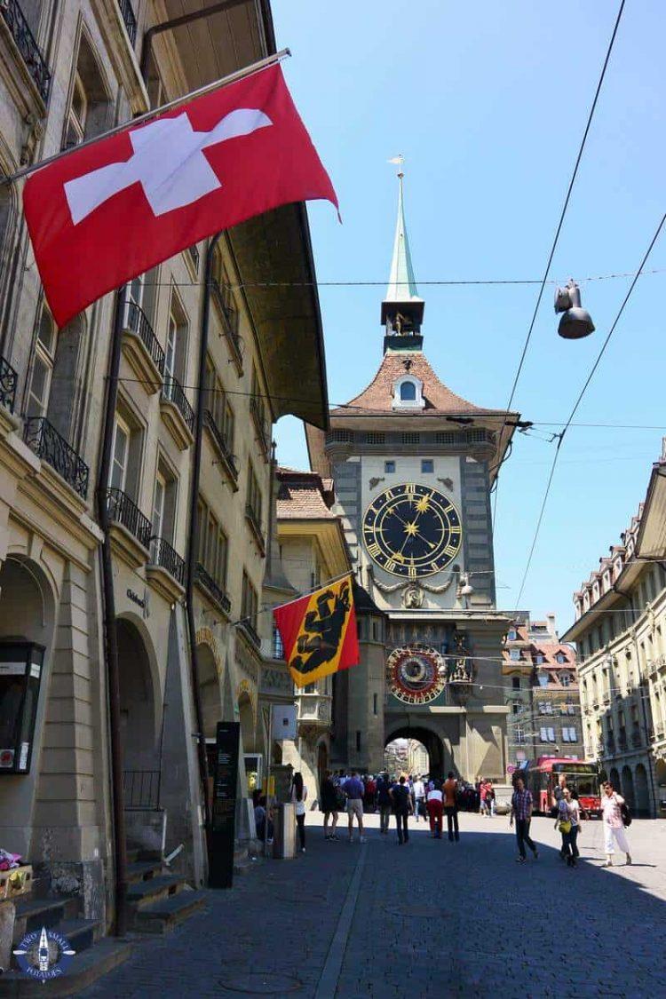 Zytglogge Tower in Bern, Switzerland