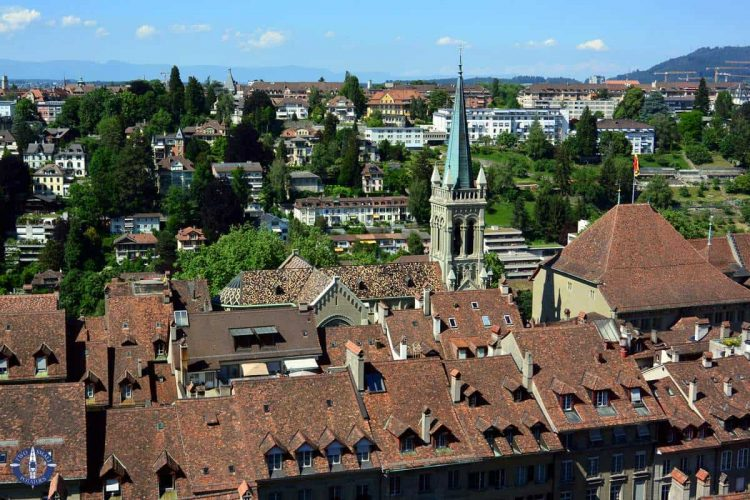 Photography for sale of Bern, Switzerland skyline