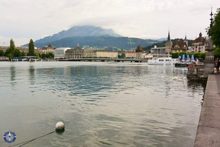 Lake Lucerne waterfront, one of the best things to do in Lucerne, Switzerland