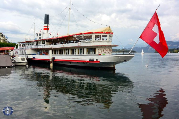 Wilhelm Tell steamboat on Lake Lucerne, best things to do in Lucerne