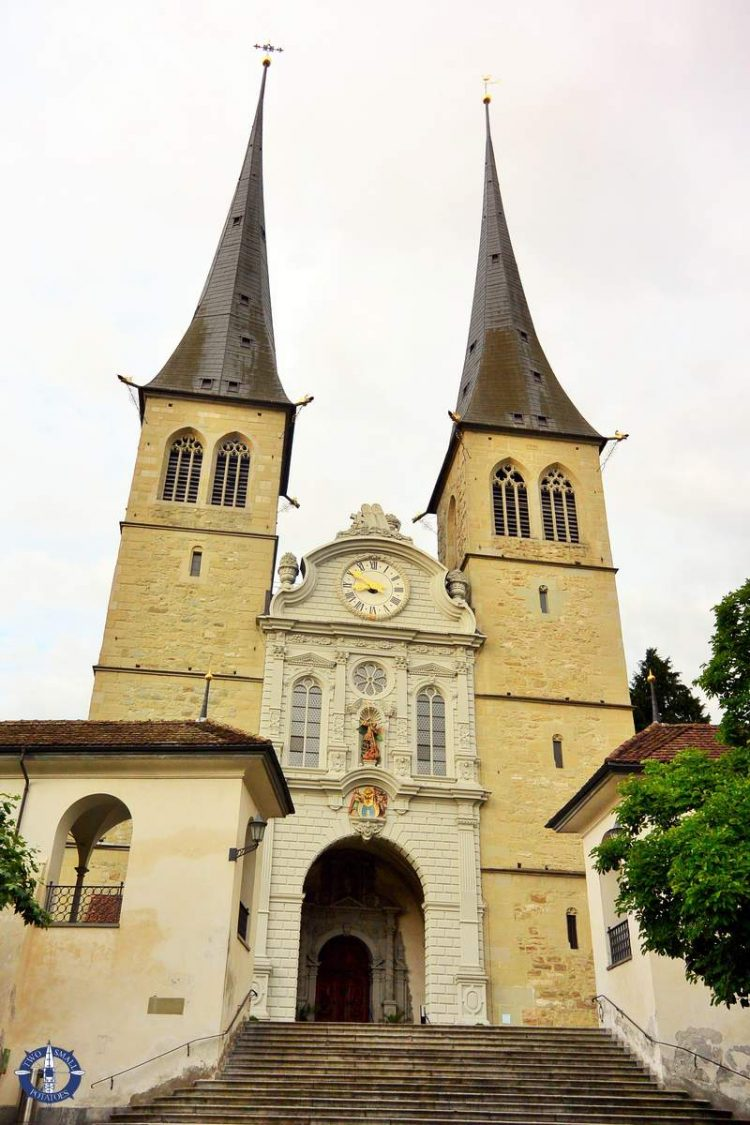 The Court Church of Leodogar, one of the best things to do in Lucerne