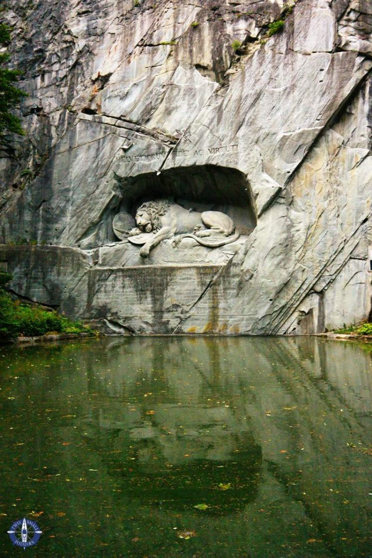 Lion Monument, of the best things to do in Lucerne, Switzerland
