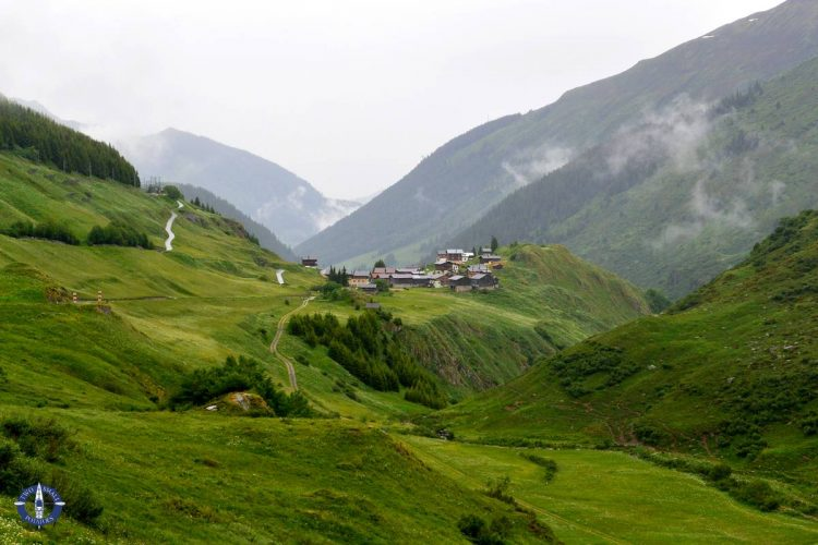Image of Oberalp Pass in Swiss Alps for sale on Fine Art America