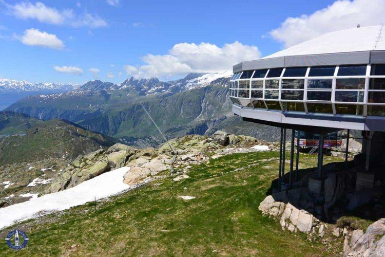 Panorama Restaurant Bettmerhorn at the Bettmergrat summit, Switzerland
