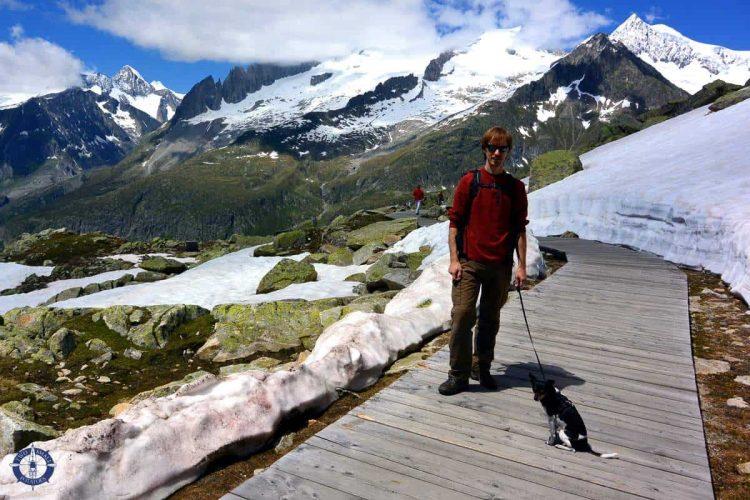 Trailhead from Bettmergrat, Switzerland