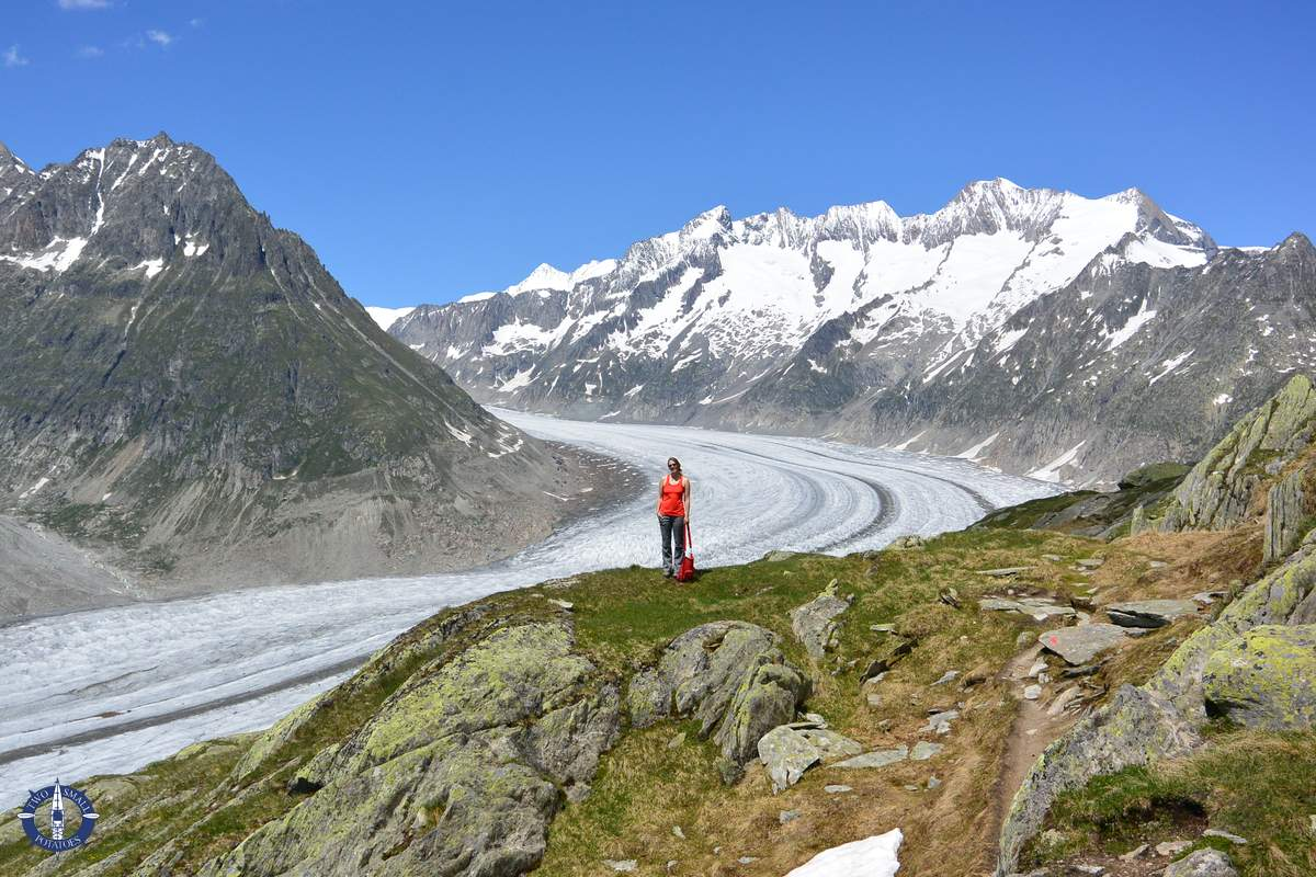 Aletsch Glacier Hike: Travel Guide with Tips & Map | Two Small Potatoes