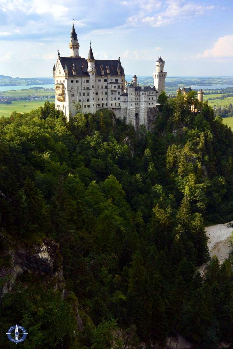 Neuschwanstein Castle from Queen Mary's Bridge, Germany
