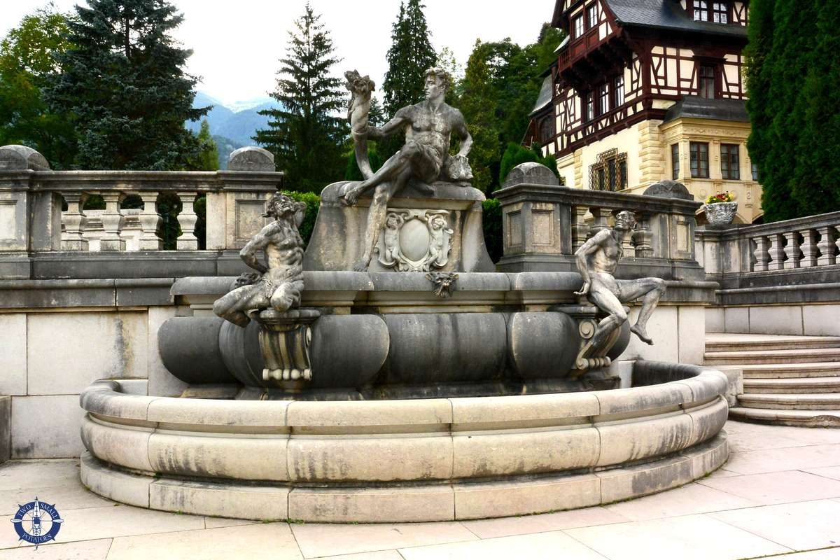 Florentine fountain at Peles Castle, Romania