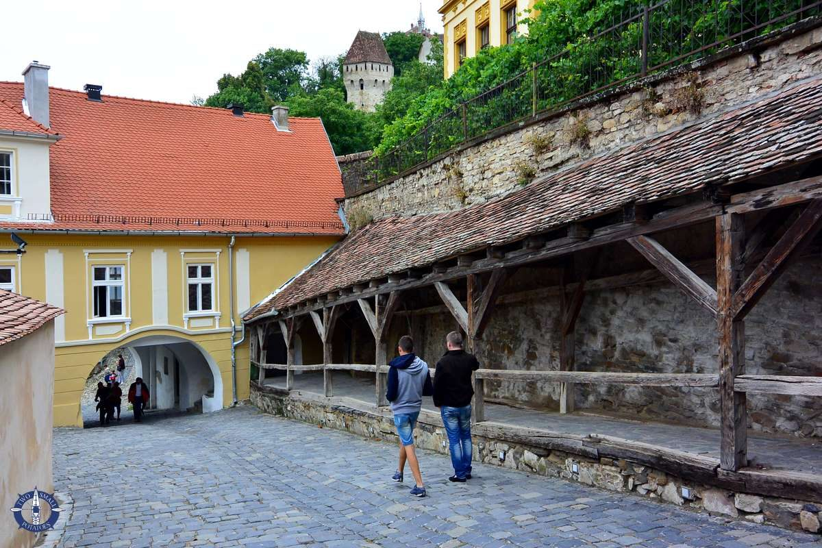 Passage of the Old Ladies in Sighisoara, Romania
