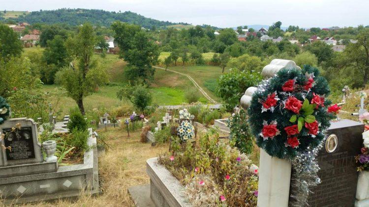 Cemetery in Maramures, Romania