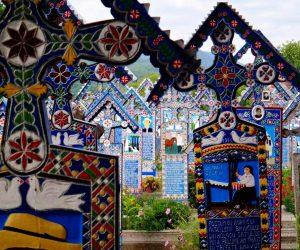 Merry Cemetery of Săpânța, Romania