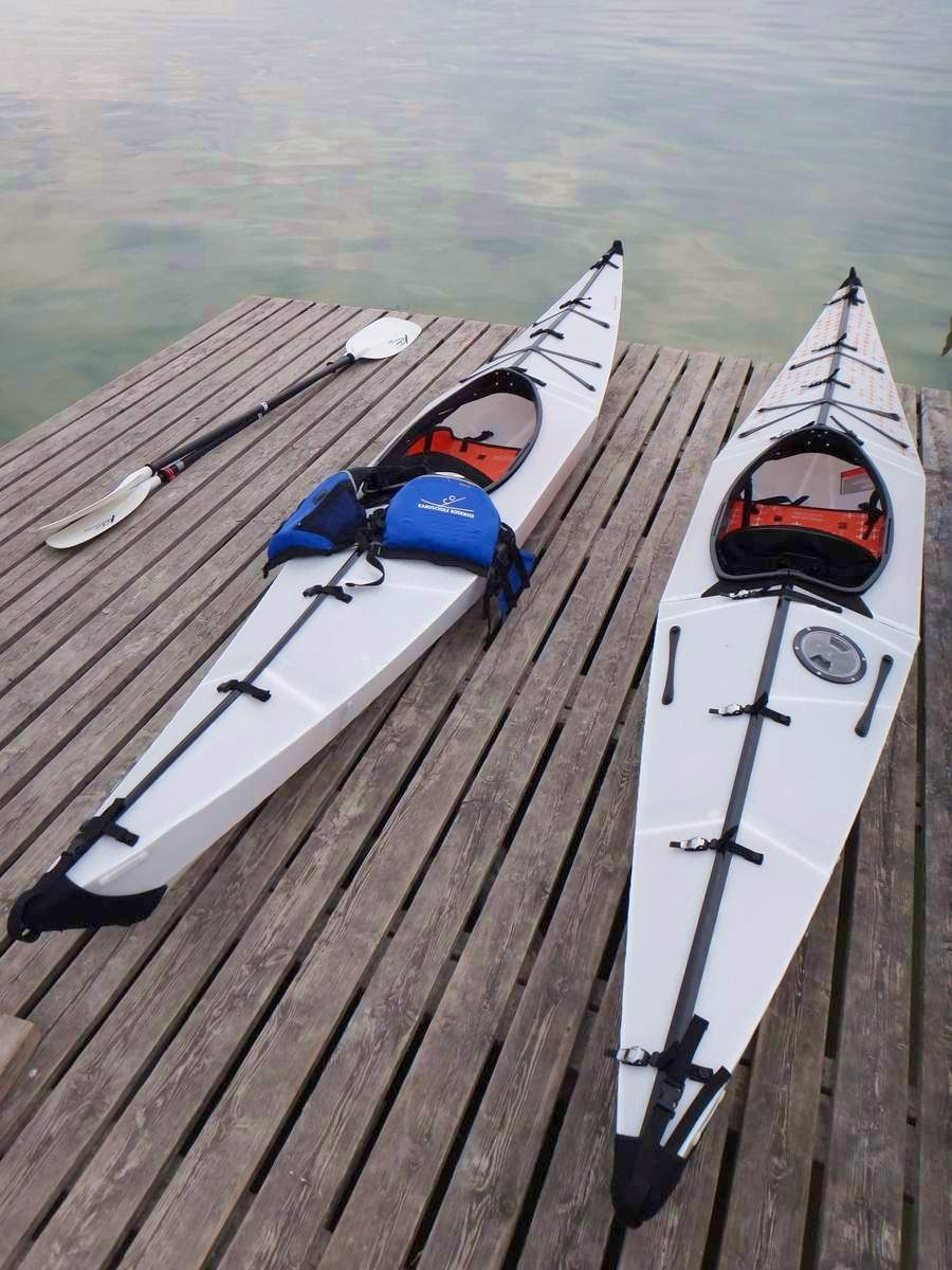 Oru kayak demo in Switzerland