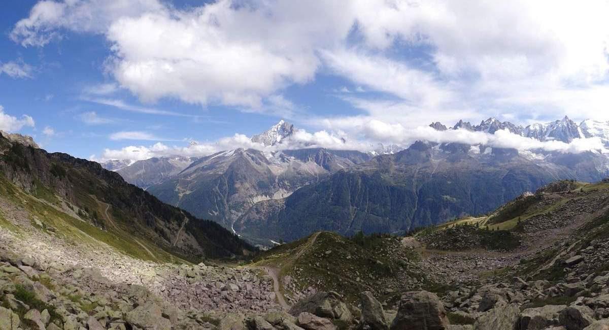 French Alps from Planpraz