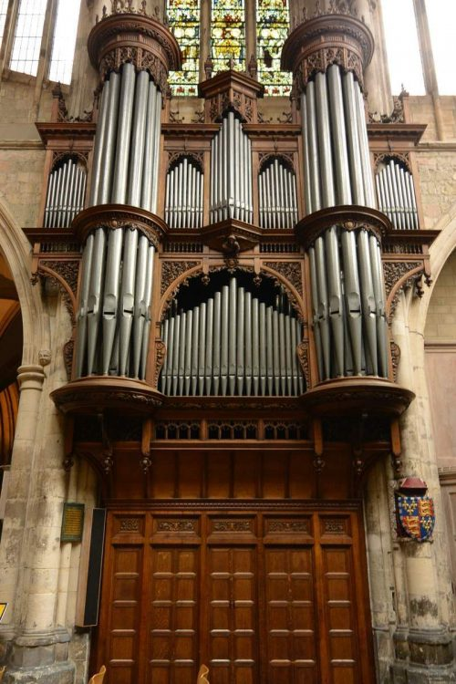 Organ of Southwark Cathedral, London