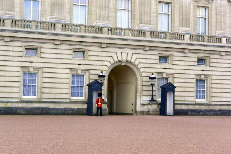 Buckingham Palace in London