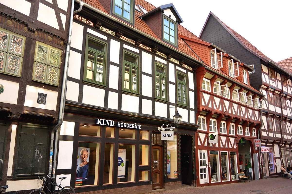 Half timber houses of Goettingen, Germany