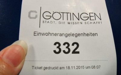 Our number at the German Immigration office