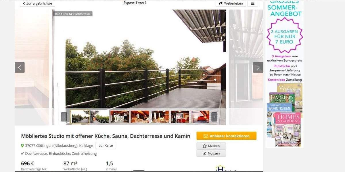 Apartment for rent in Nikolausberg, Germany