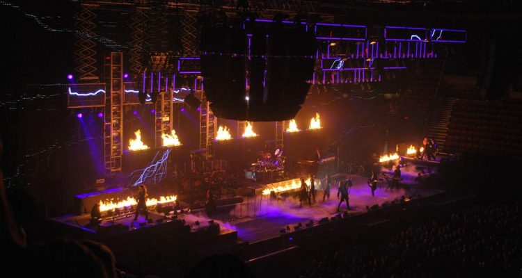 Trans Siberian Orchestra Christmas concert, Oregon,, USA