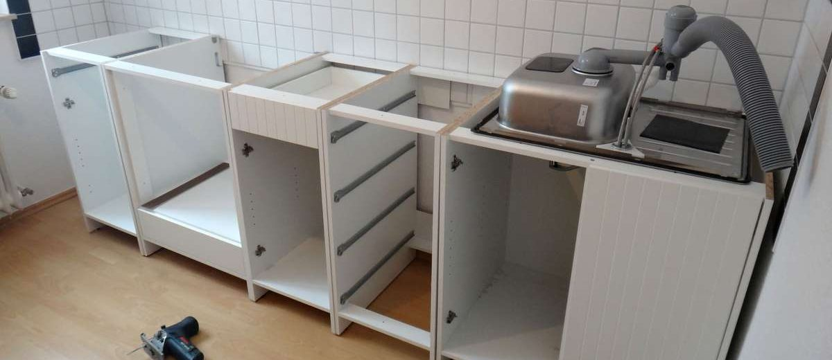 Building Our Ikea Kitchen In Germany
