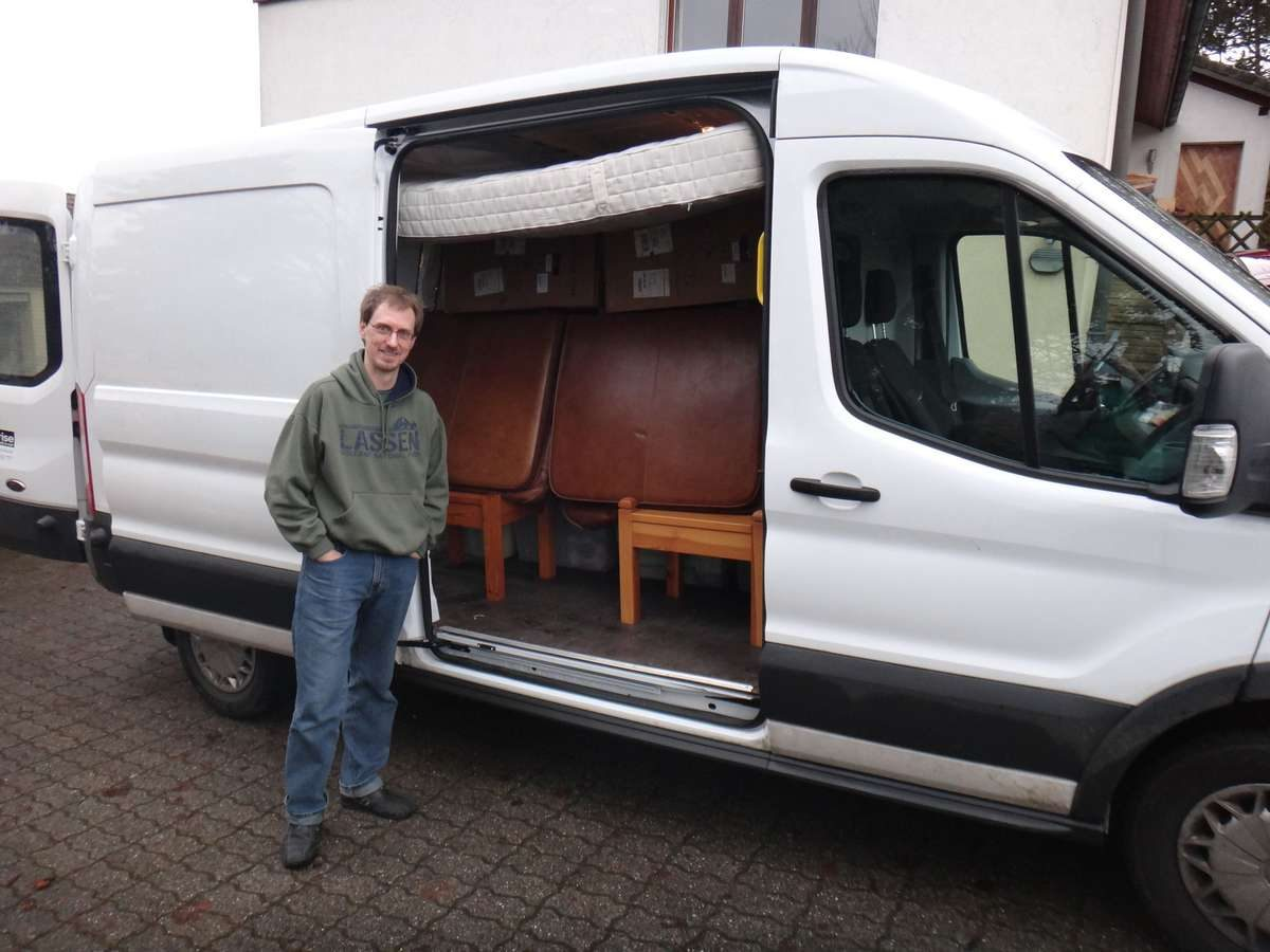 Rental van, moving from Switzerland to Germany