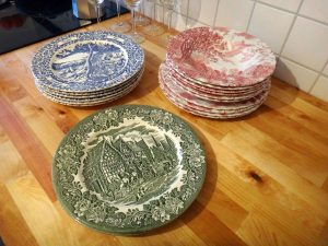 Dishes from ebay in Germany