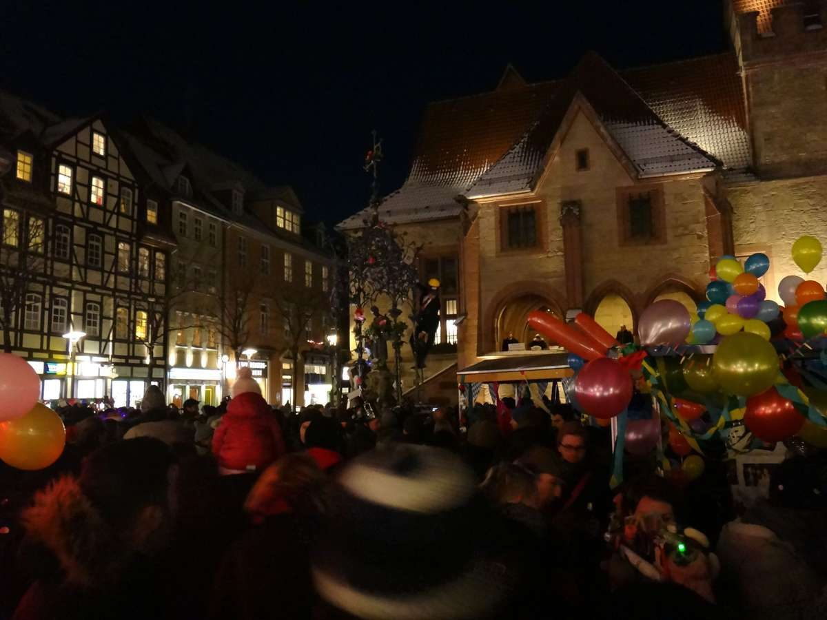 PhD Procession to the Gänseliesel, Gottingen