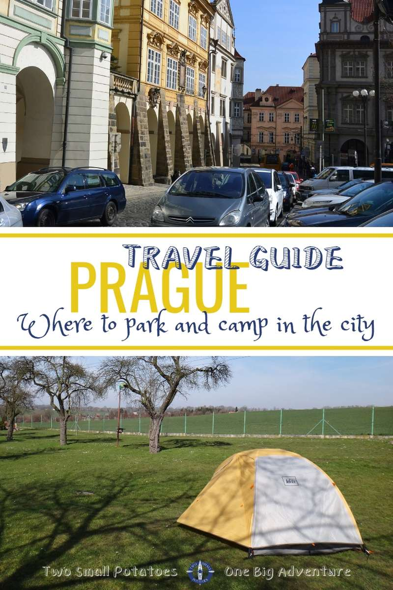 Planning a trip to the Czech Republic's vibrant capital city? This short Prague travel guide might help. Know where to buy a driving vignette, park, and camp in the city.  @PragueEU #travelguide #TatersTravels