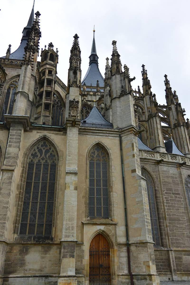 Gothic Church of St Barbara, Czech Republic